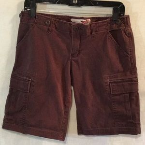 Tyte Brown Cargo Shorts Size 7